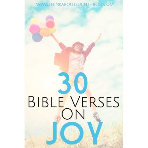 Medium Crop Of Scriptures On Joy