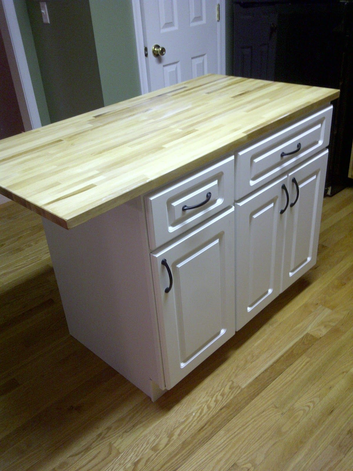 inexpensive kitchen countertops DIY Kitchen island cheap kitchen cabinets and a countertop easy