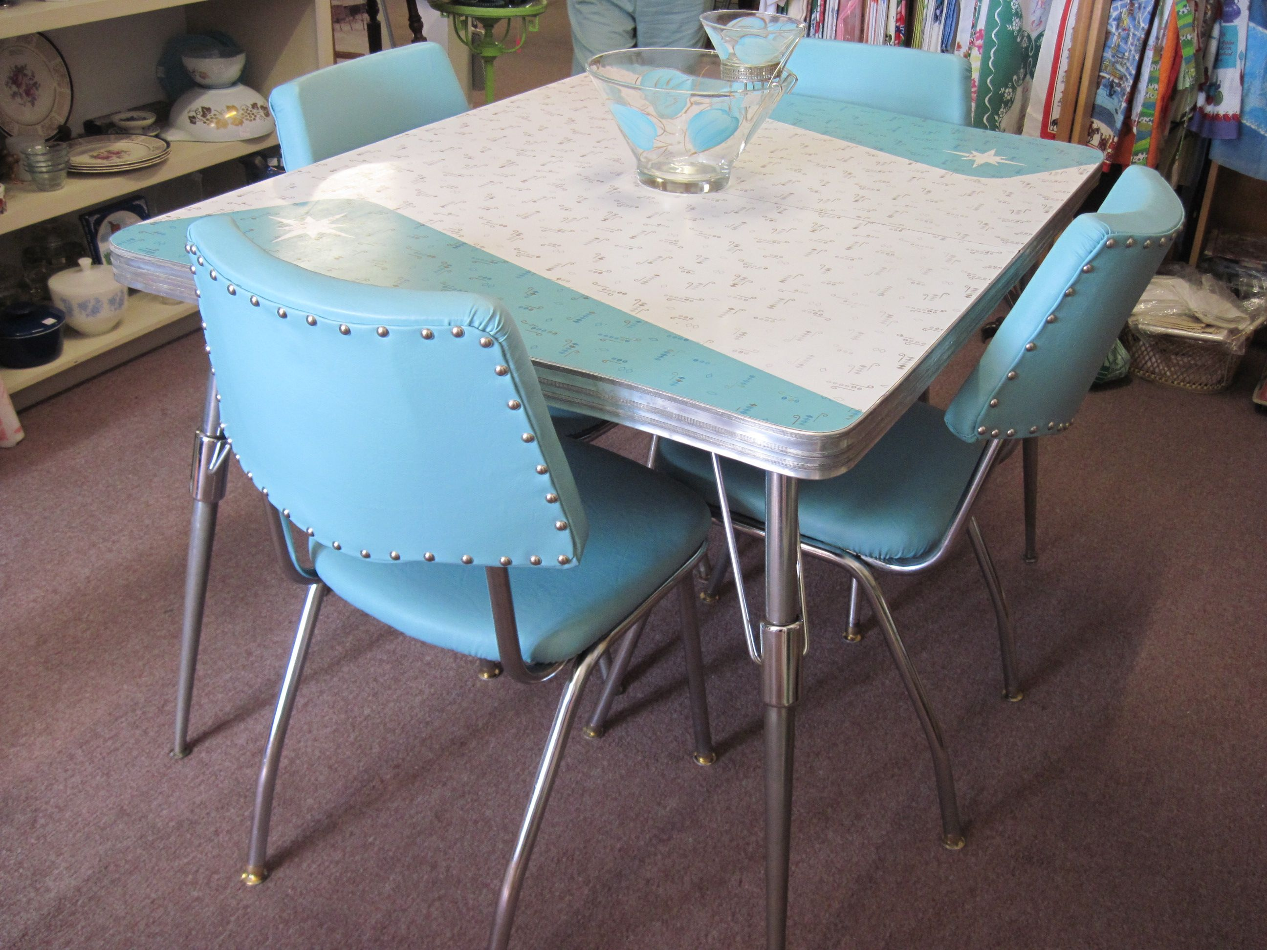 retro table and chairs kitchen tables and more Find this Pin and more on For the Home