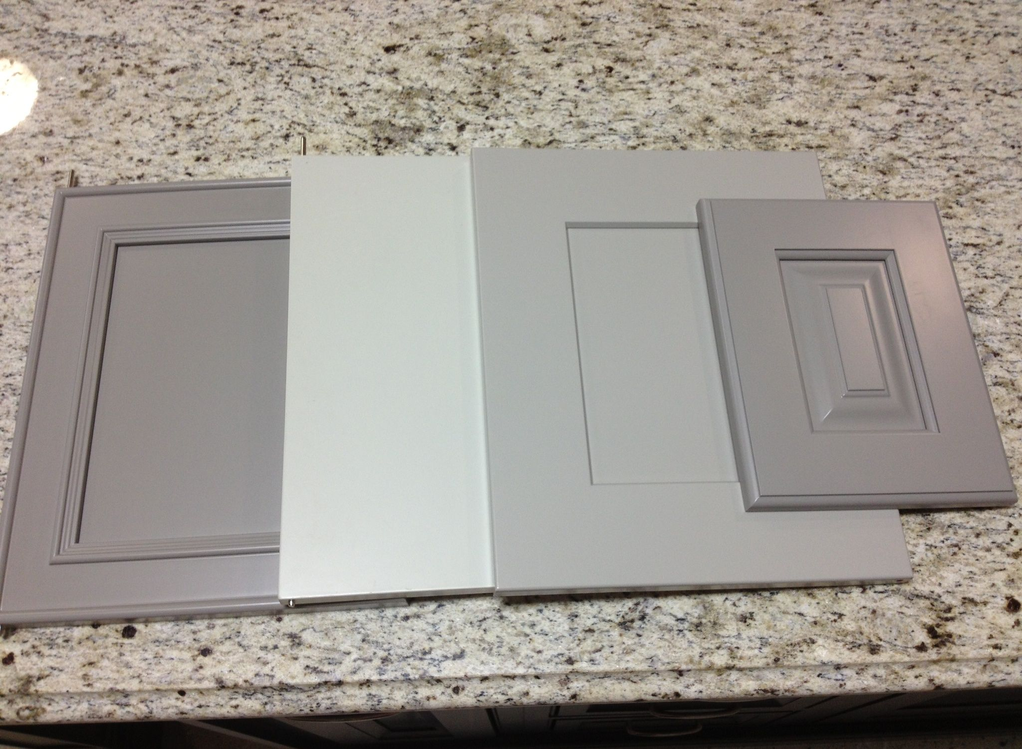 light gray kitchen cabinets gray cabinets black counters slate herringbone floor marble hex backsplash accent Kitchen Design Pinterest Gray cabinets Gray kitchens and Custom