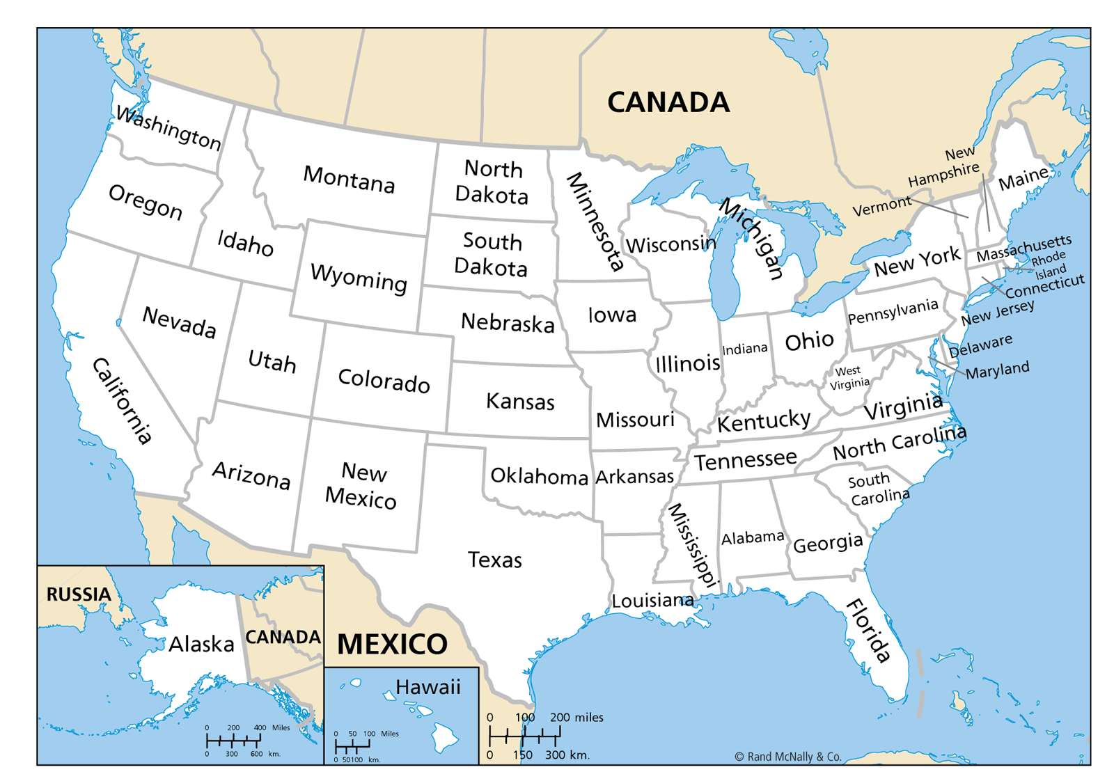 US Canada Mexico CrossBorder Operations By Jurisdiction Blank - Mexico usa map