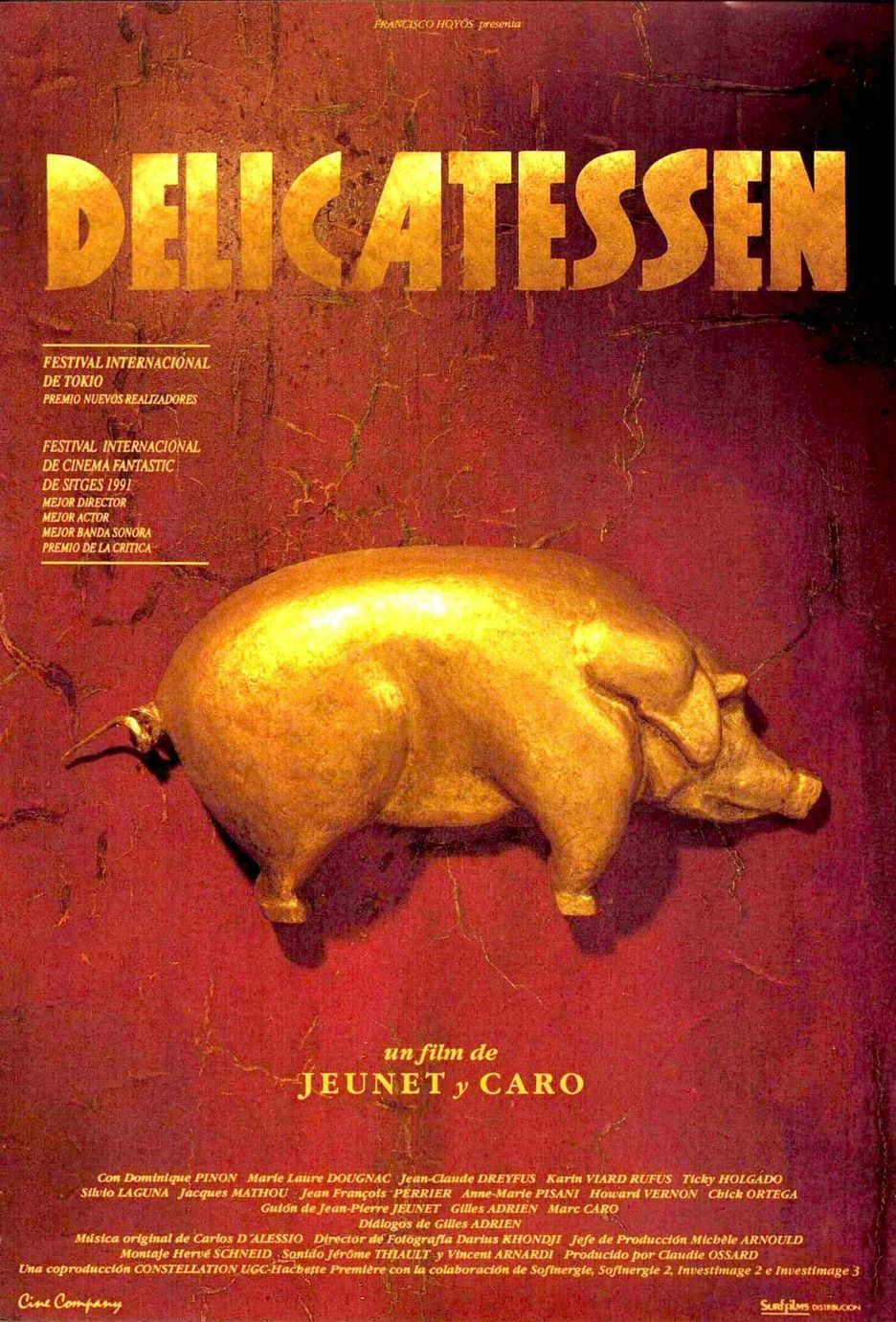 Poster do filme Delicatessen