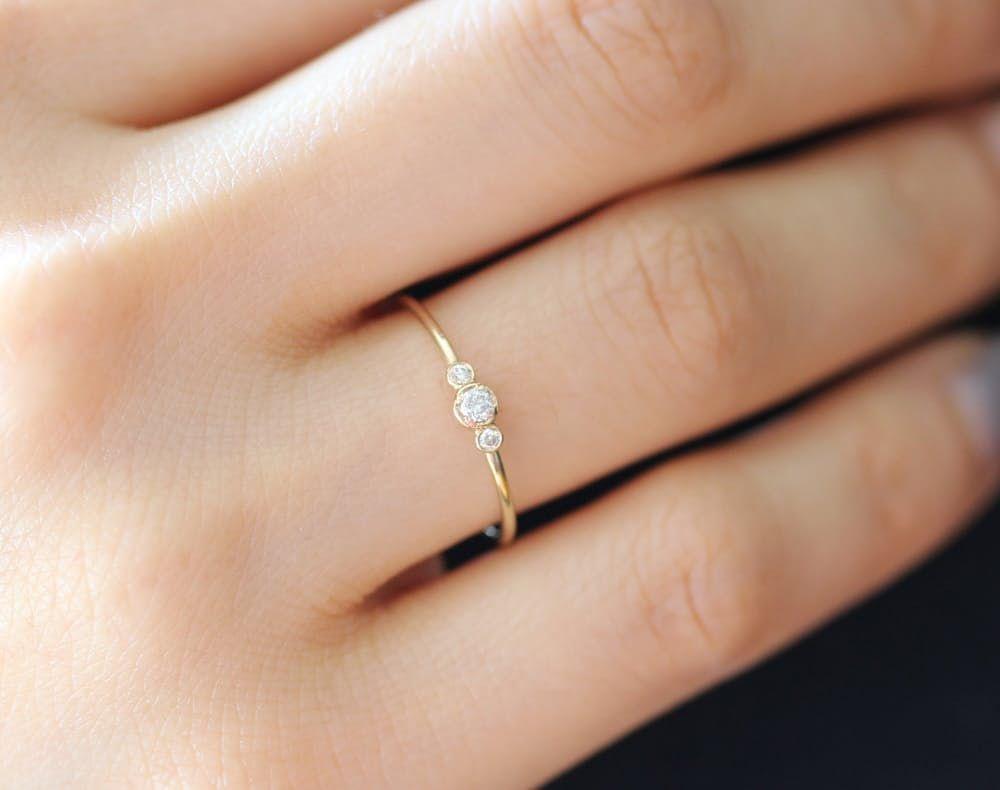 alternative engagement rings pretty wedding rings 15 Beautiful Budget Friendly Alternative Engagement Rings