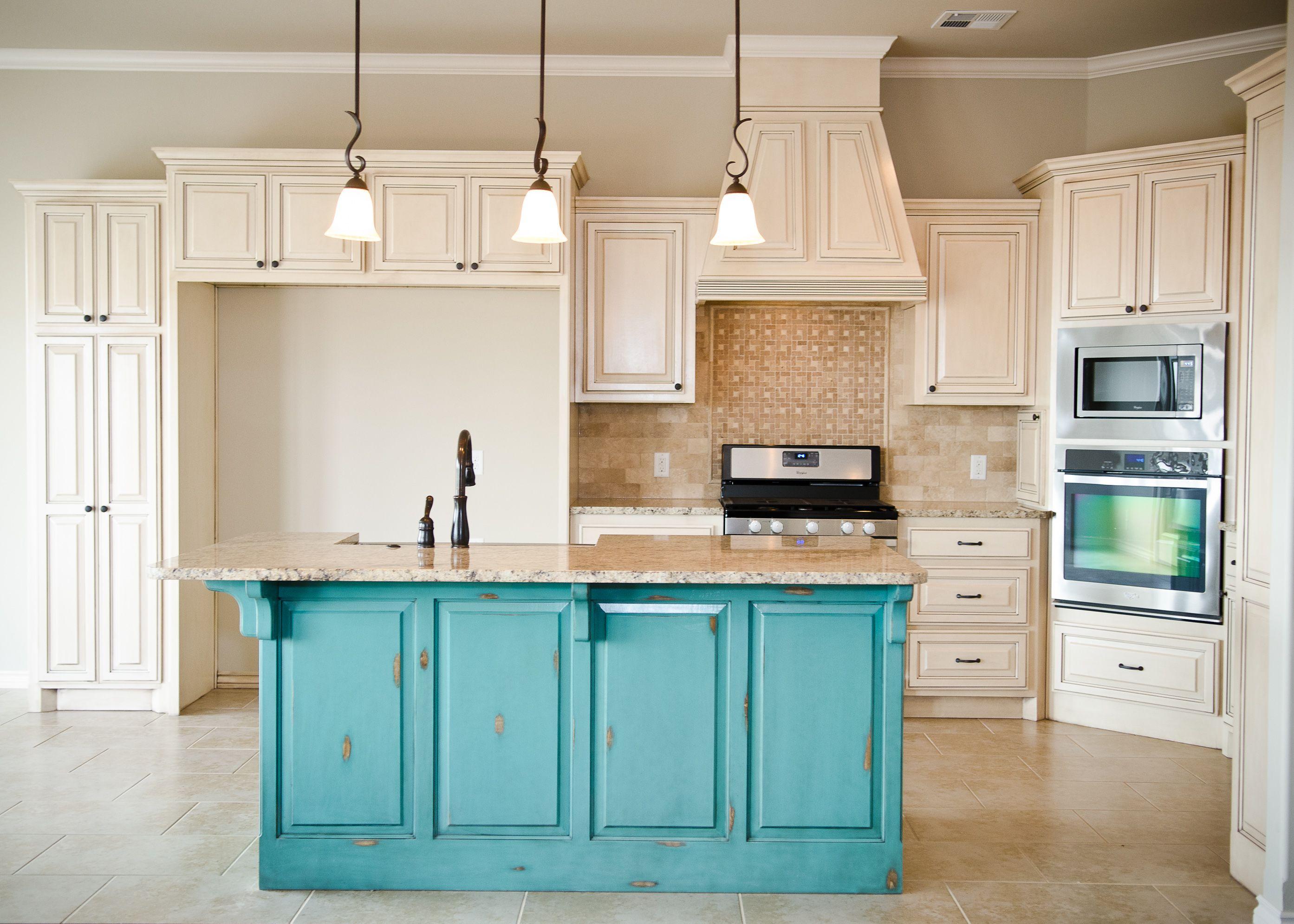 cream kitchen cabinets Distressed White Kitchen Cabinets Cream Distressed Kitchen Cabinets With Islands