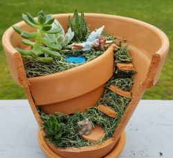 Floor Clay Pot Garden Pinterest Fairy Gardens Clay Pot Garden Clay Pot Fairy Gardens Broken Clay Pot Rafael Home Biz Fairy Gardens Broken Clay Pot Rafael Home Biz Pots Fairy Garden Pots To Buy