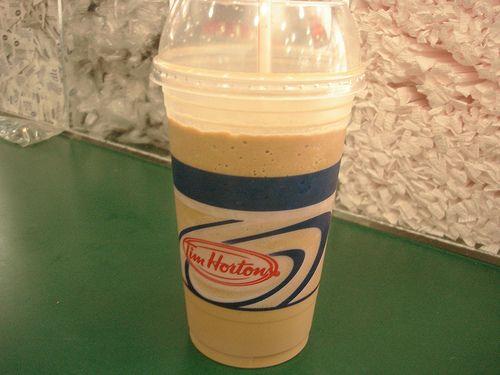 Tim Horton's Iced Cap   YUM! More