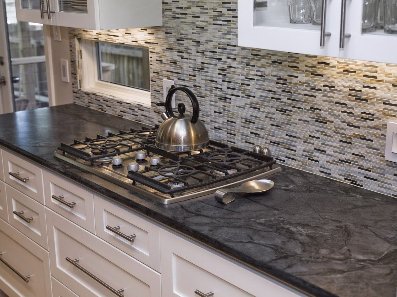 kitchen cabinet countertop concrete countertops white cabinets Google Search