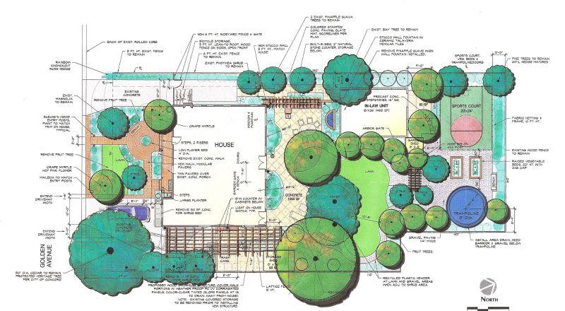 Large Of Landscape Design Plan