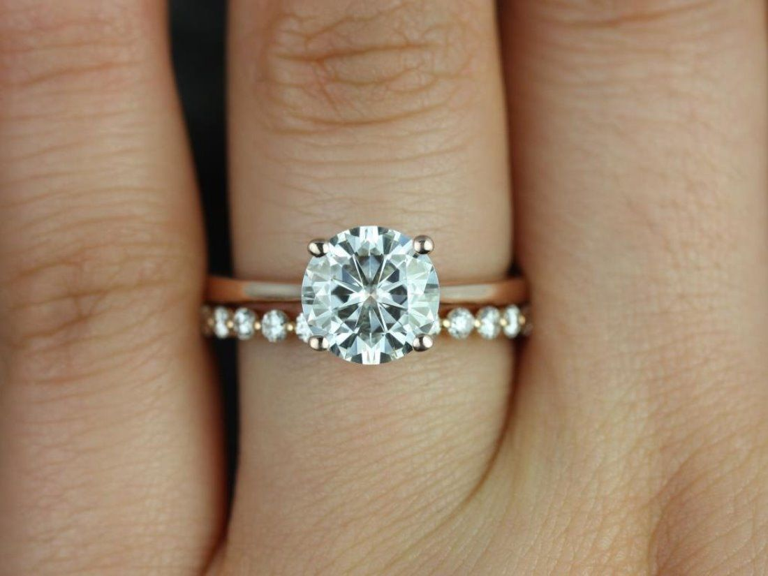 mismatched wedding bands flexible wedding ring 13 Etsy Boutiques to Shop Gorgeous Engagement Rings