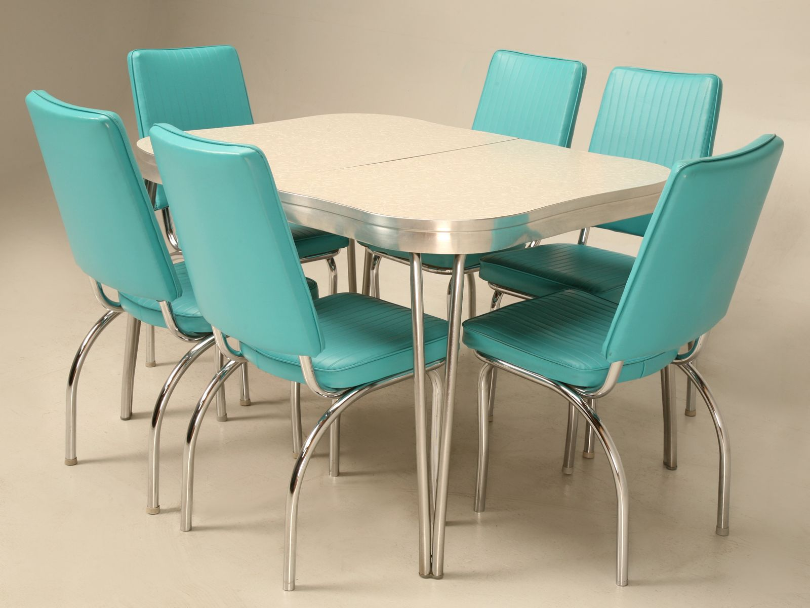 formica table chairs era 50 s retro kitchen table sets Vintage American Extending Dinette Set