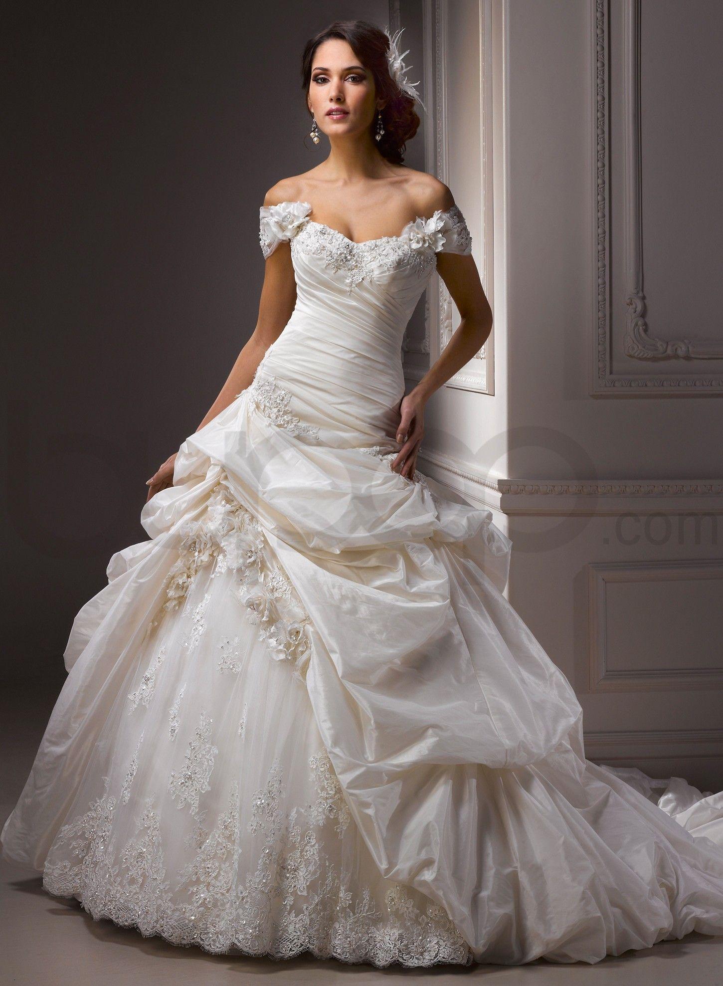 wedding dress cap sleeves Bordeaux Metallic Taffeta Soft Shimmer Satin Detachable Cap sleeve Shoulder Sweetheart Neckline Ball Gown