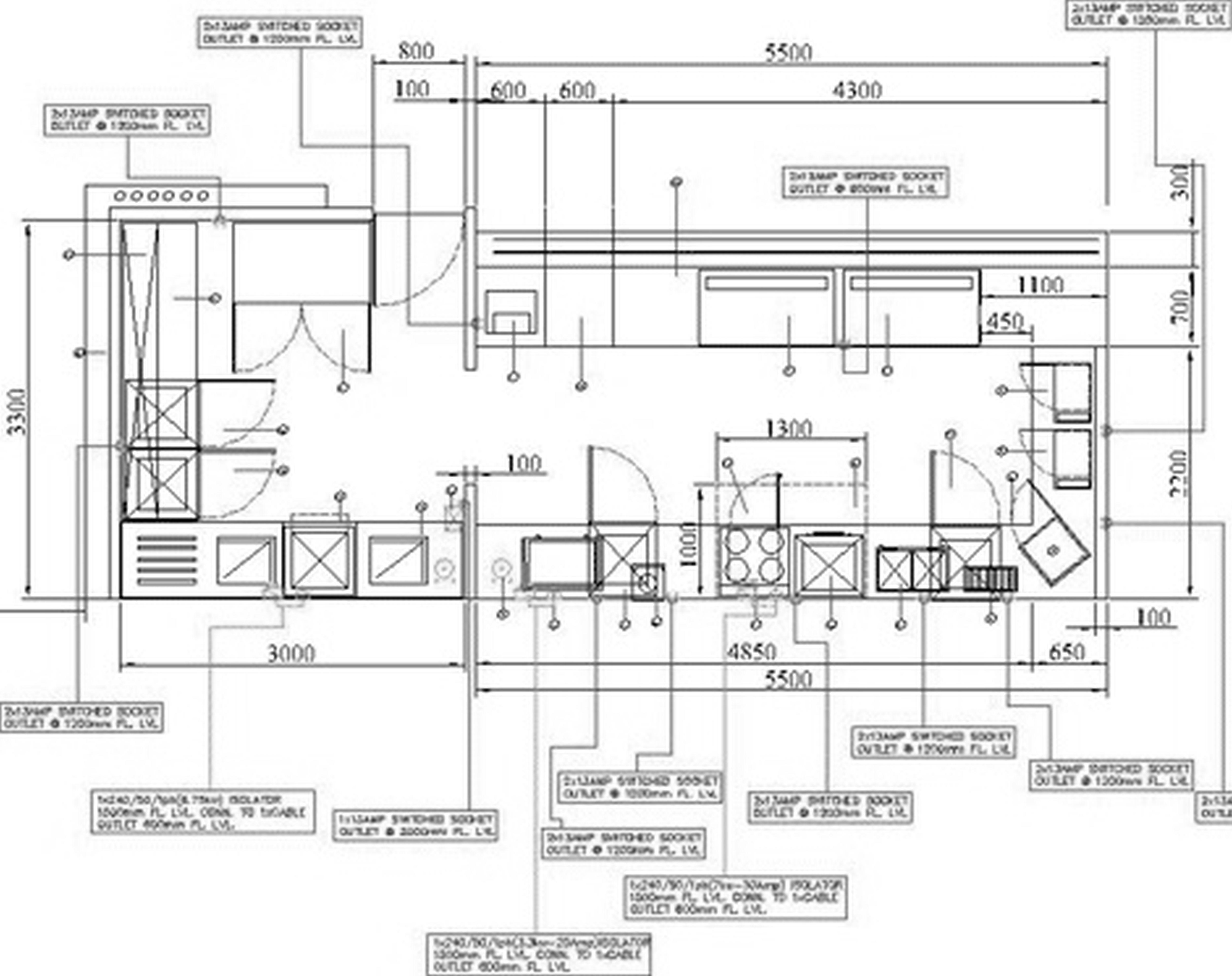 kitchen layout design High Quality Threshold Kitchen Island 1 Commercial Kitchen Design Layout