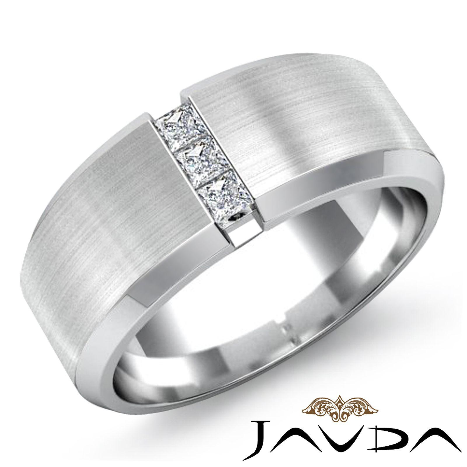 wedding ring men Bold Bands Unique Mens Wedding Rings