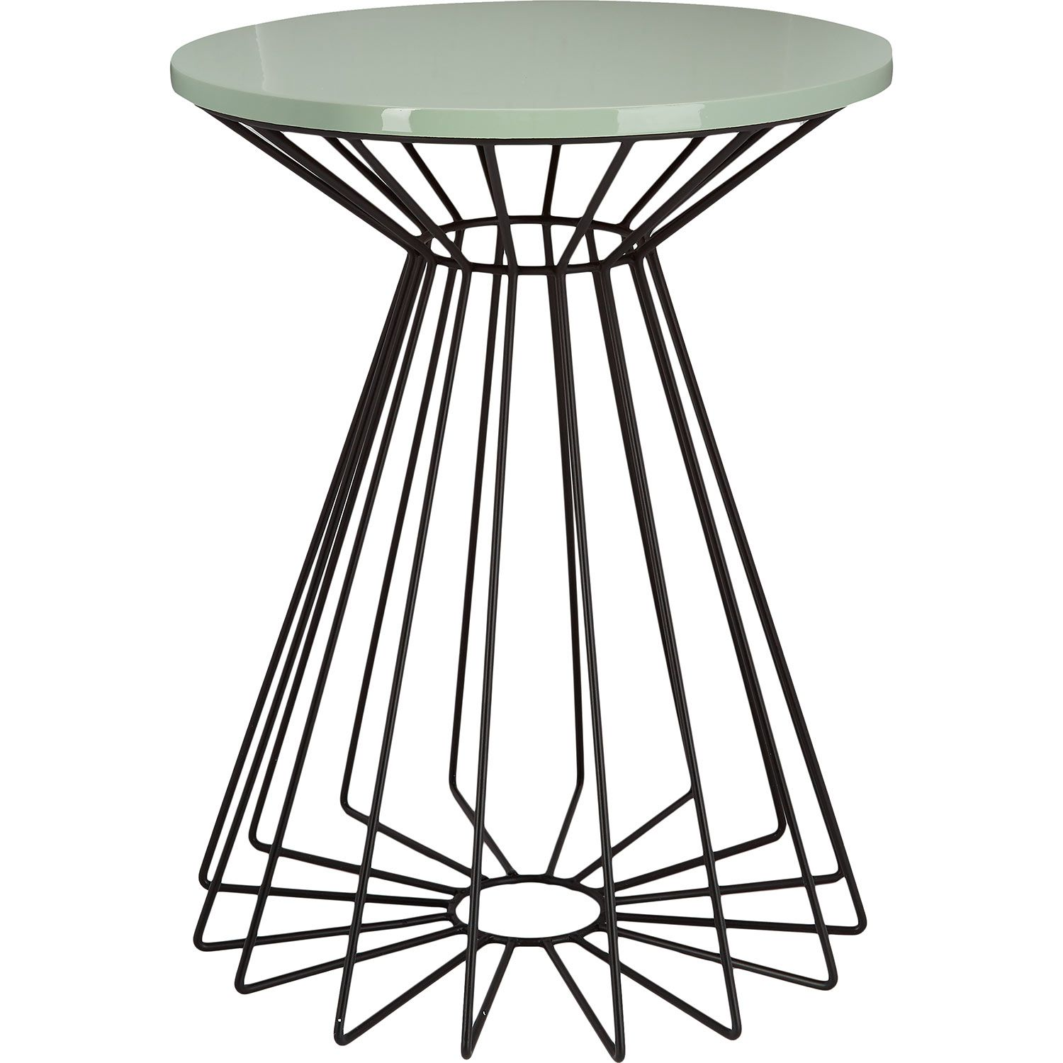 kitchen side table Passport To India Duck Egg Round Side Table TK Maxx