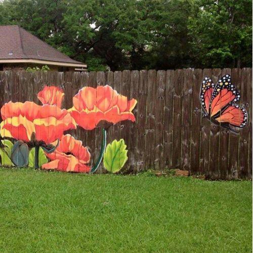 Medium Crop Of Diy Fence Garden