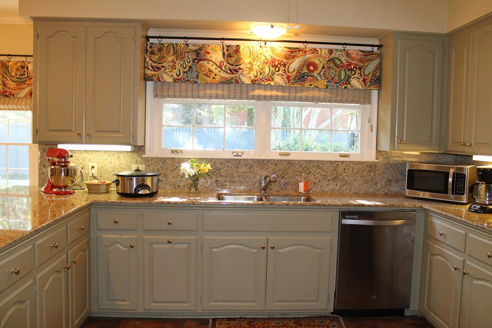 modern valance for kitchen kitchen window treatment ideas images about NEW OFFICE IDEAS on Pinterest Striped walls Kitchen valances and