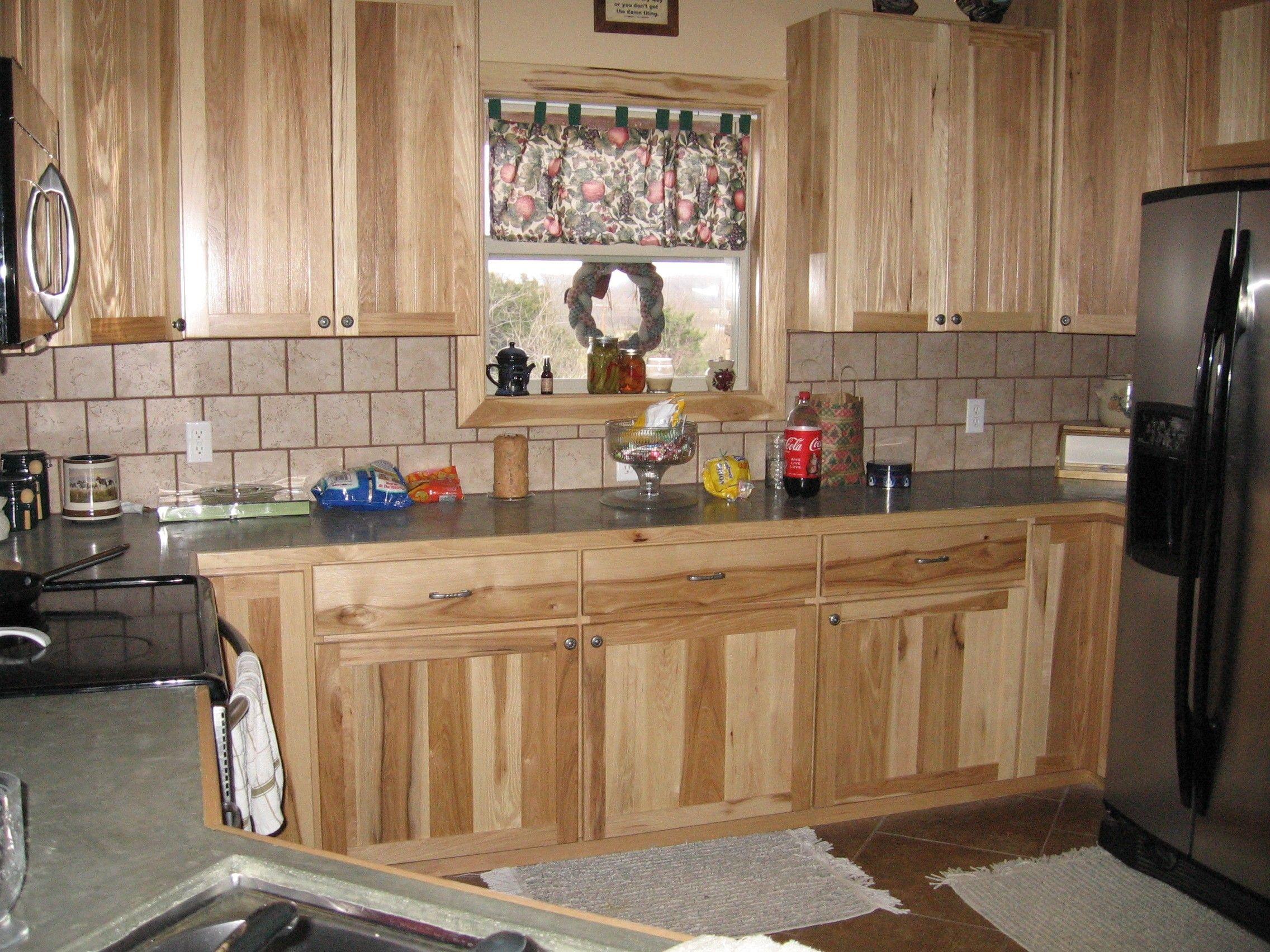 kitchen ideas kitchen cabinet outlet knotty hickory cabinets with backsplash Google Search