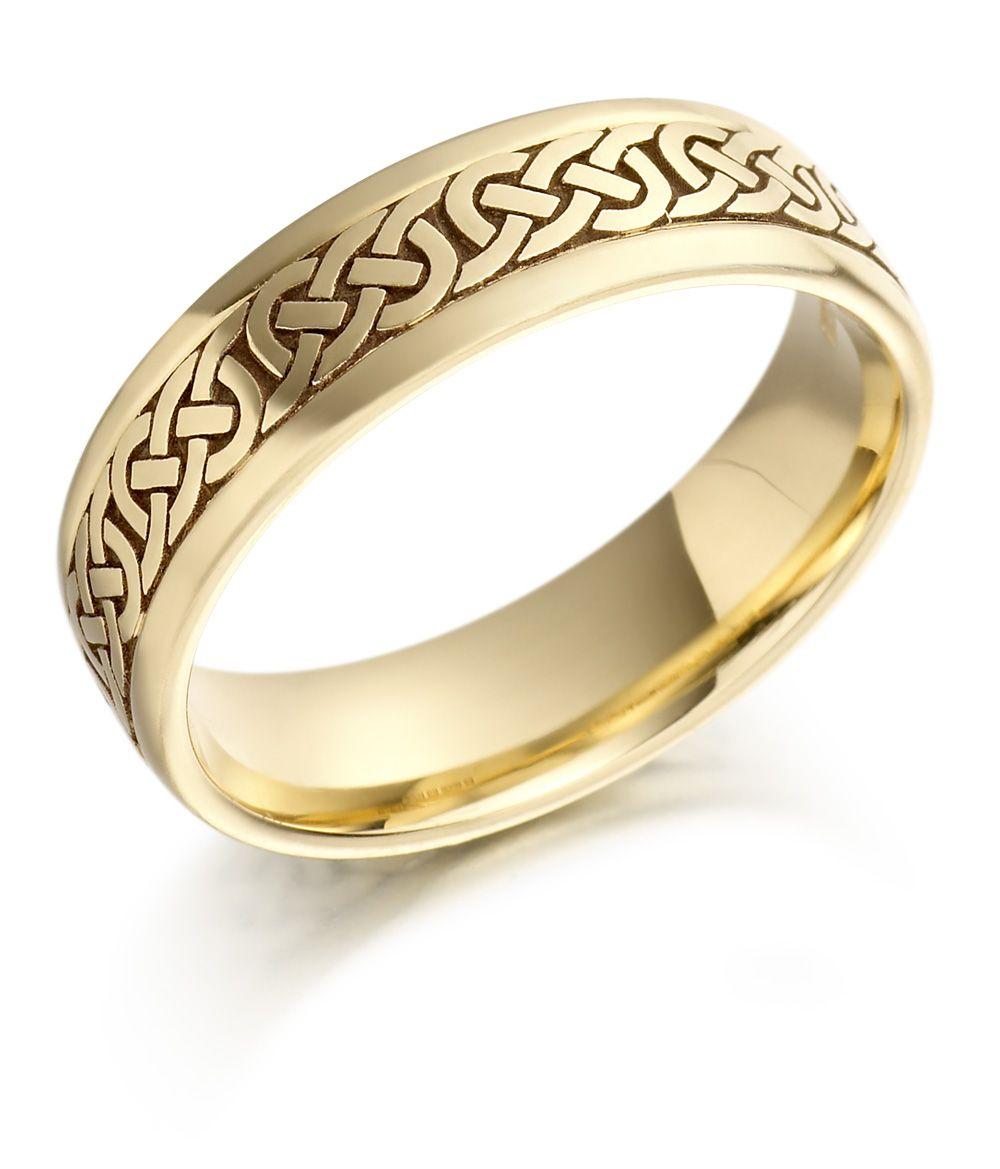 irish wedding rings Celtic Knot Wedding Ring Handmade in Ireland