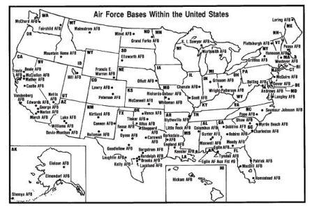 air force bases map | air force | pinterest | graduation