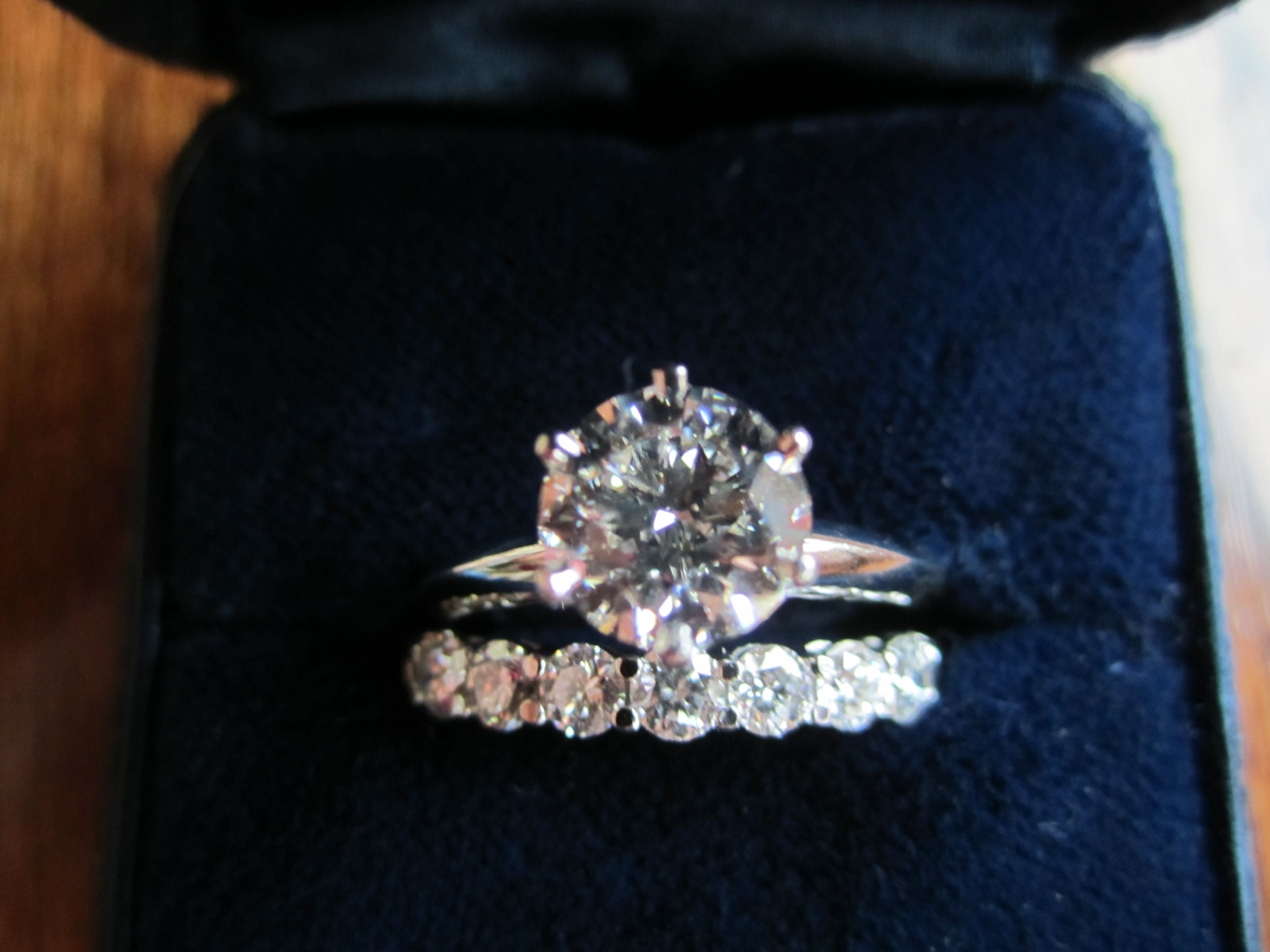 tiffany setting engagement round diamond wedding rings tiffany band engagement ring brilliant diamond wedding Band only Engagement ring