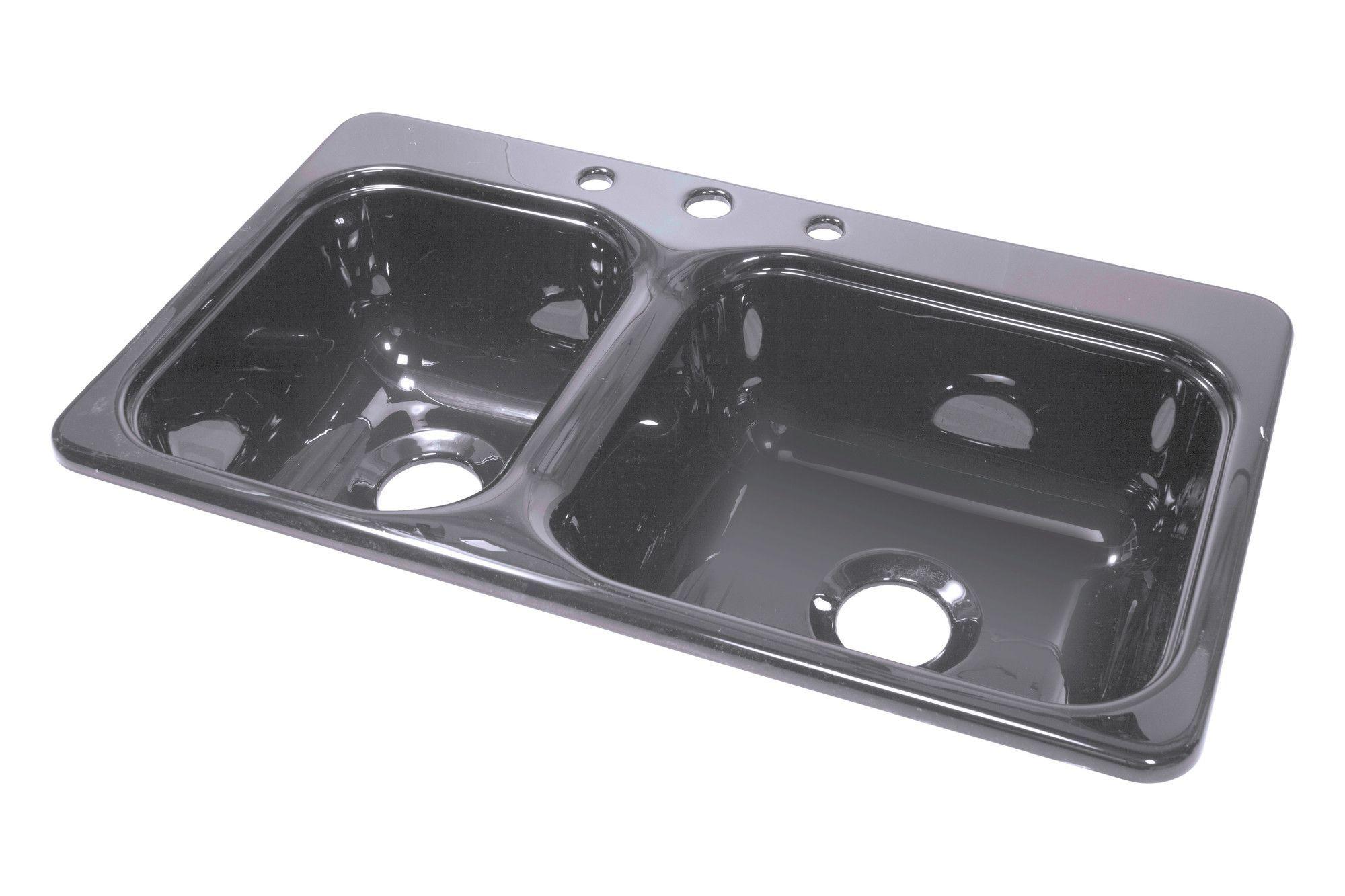 hahn kitchen sinks Elkay Gourmet 43 22 Self Rimming Single Bowl Kitchen Sink