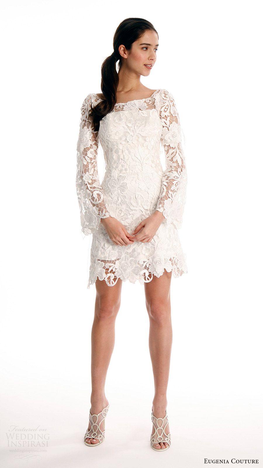 bell sleeve wedding dress Bridal