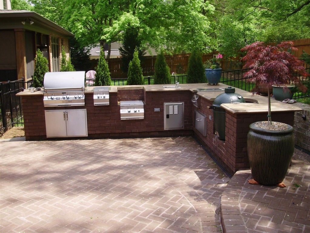 outside kitchen ideas outdoor kitchen design Barbeque kitchen design is one thing that many people search out there to enhancing their kitchen s outdoor kitchen With big green egg outdoor kitchen