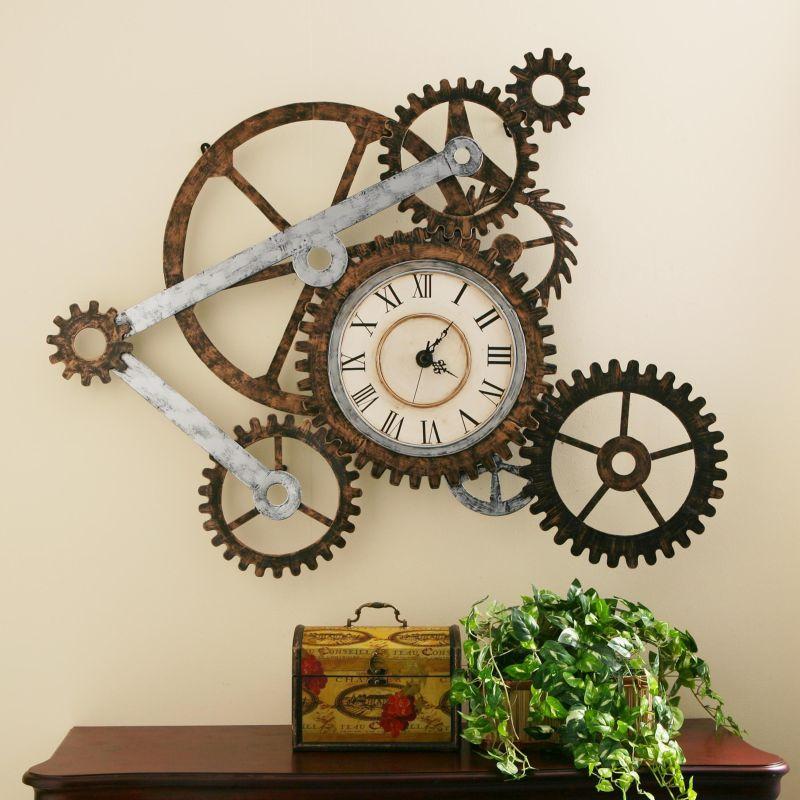 Large Of Gear Clock Design