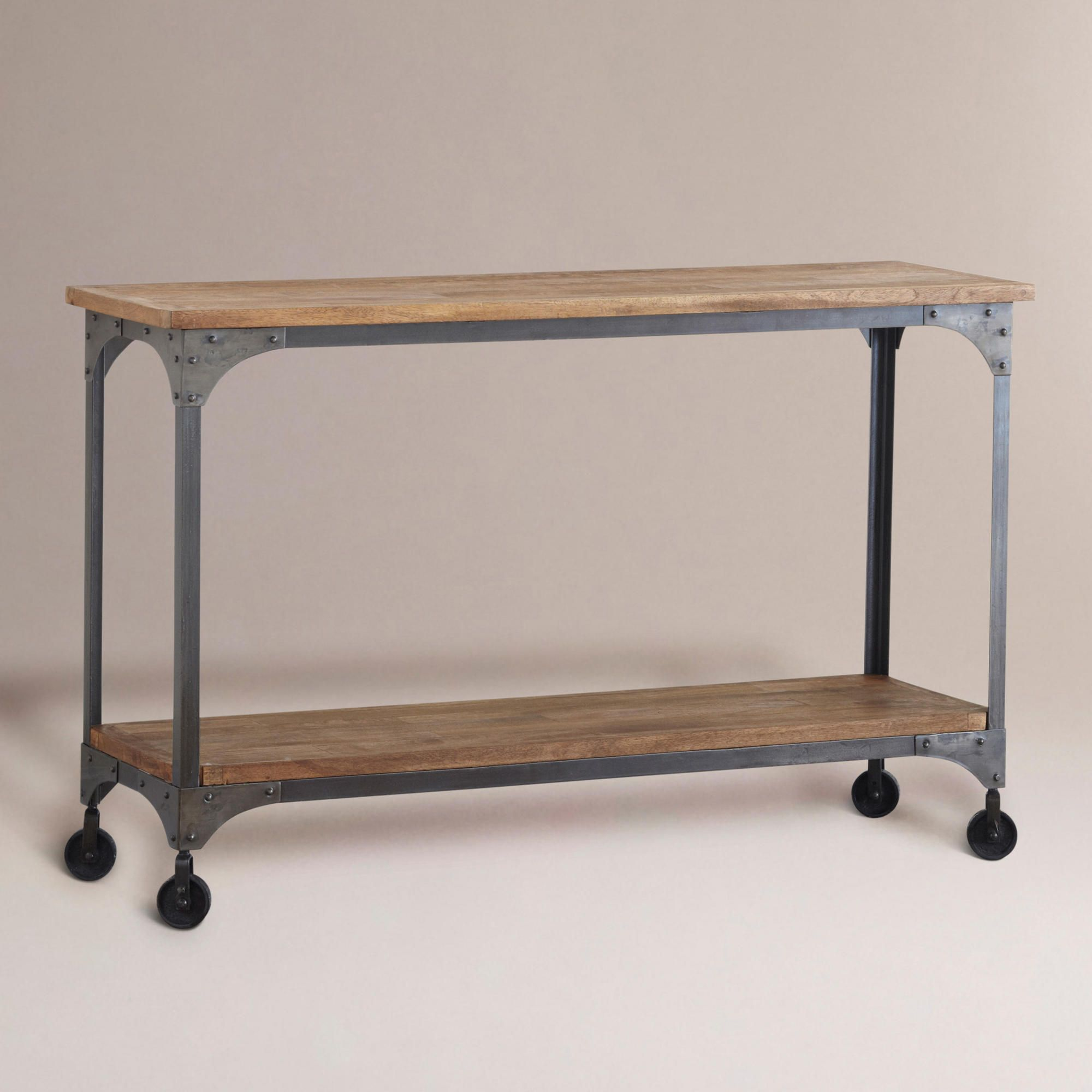kitchen console table Aiden Console Table I wish there was a World Market in Philly Love this
