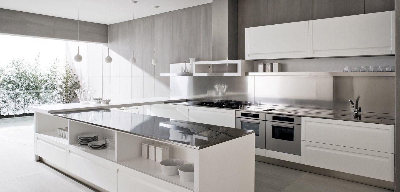 modern white kitchen design white kitchen designs Modern White Kitchen Design