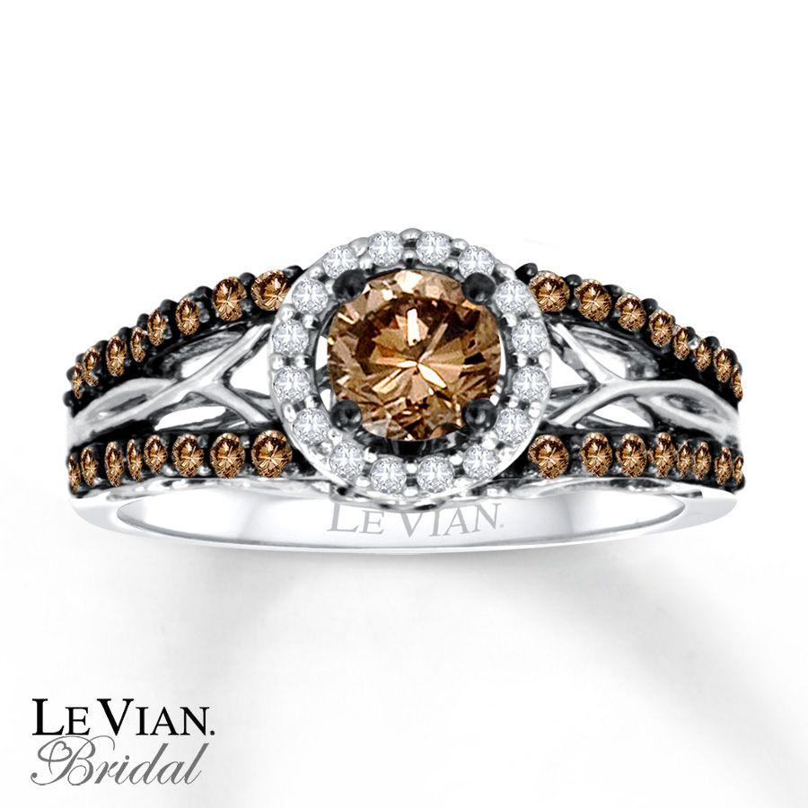 le vian wedding bands Chocolate Diamonds Wedding Bands LeVian