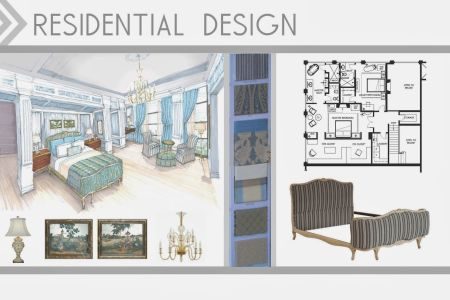 attractive interior design student portfolio book taking