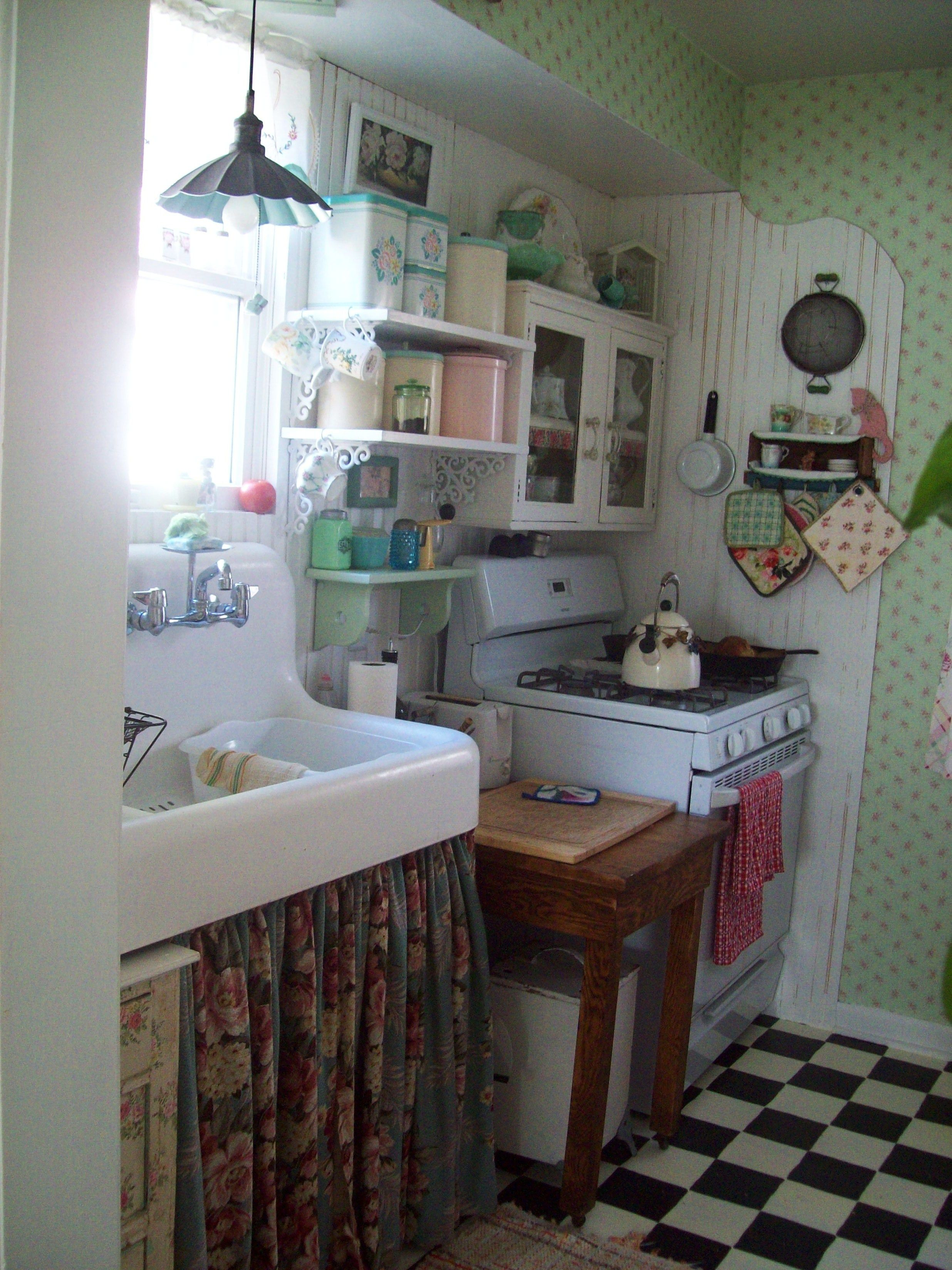 vintage kitchen sink vintage cottage kitchen