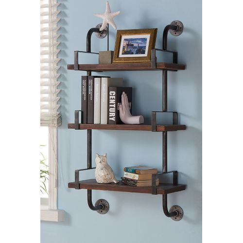 Medium Crop Of Hanging Wall Shelves For Bathroom