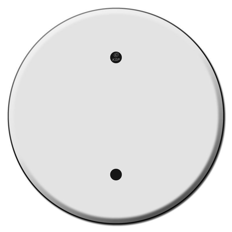 Round Ceiling Outlet Blank Switch Plate Covers For 3 25 Inch Bo