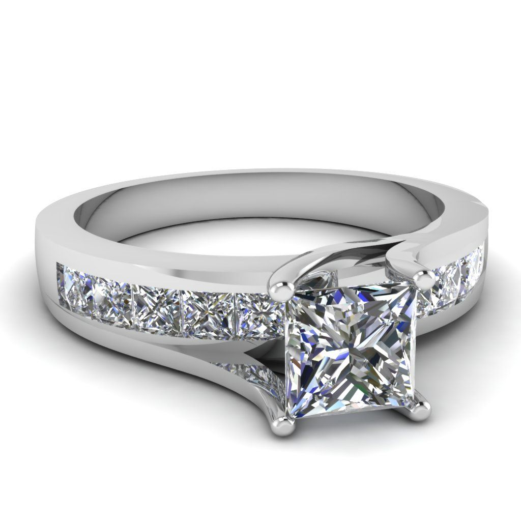 wedding rings dollars Princess Bridge Ring