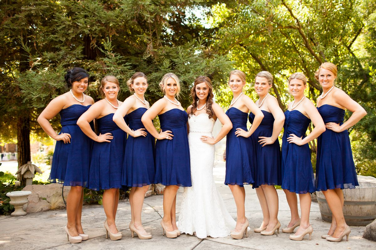 navy dresses for weddings Navy dresses Outdoor wedding