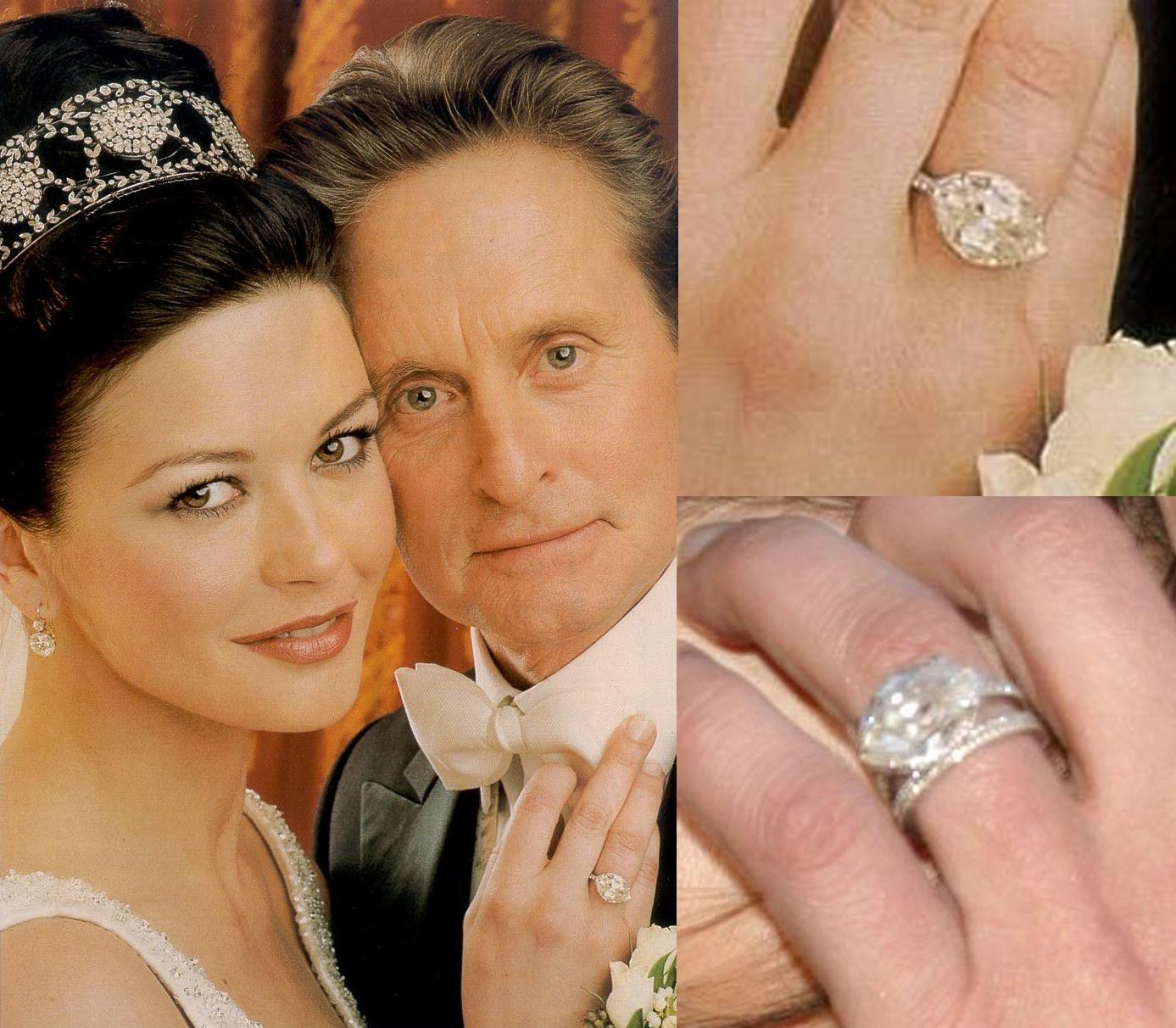 vintage wedding rings Celebrity Antique Engagement Rings