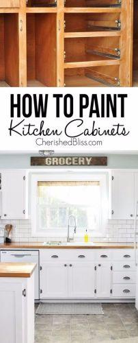 kitchen makeover ideas 37 Brilliant DIY Kitchen Makeover Ideas