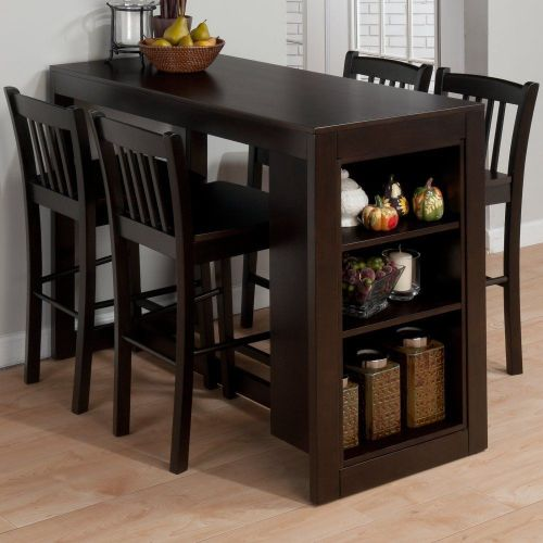 counter height kitchen tables Amazon com Jofran Maryland Counter Height Storage Dining Table Tables