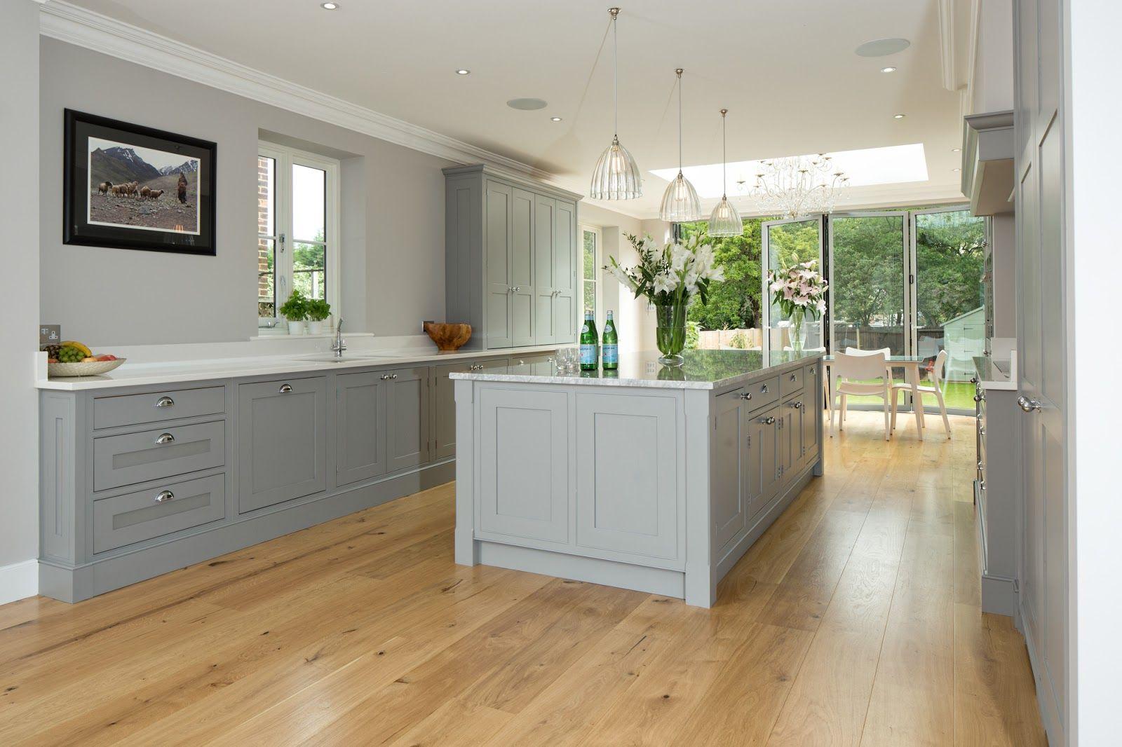 light gray kitchen cabinets light grey shaker kitchens Google Search