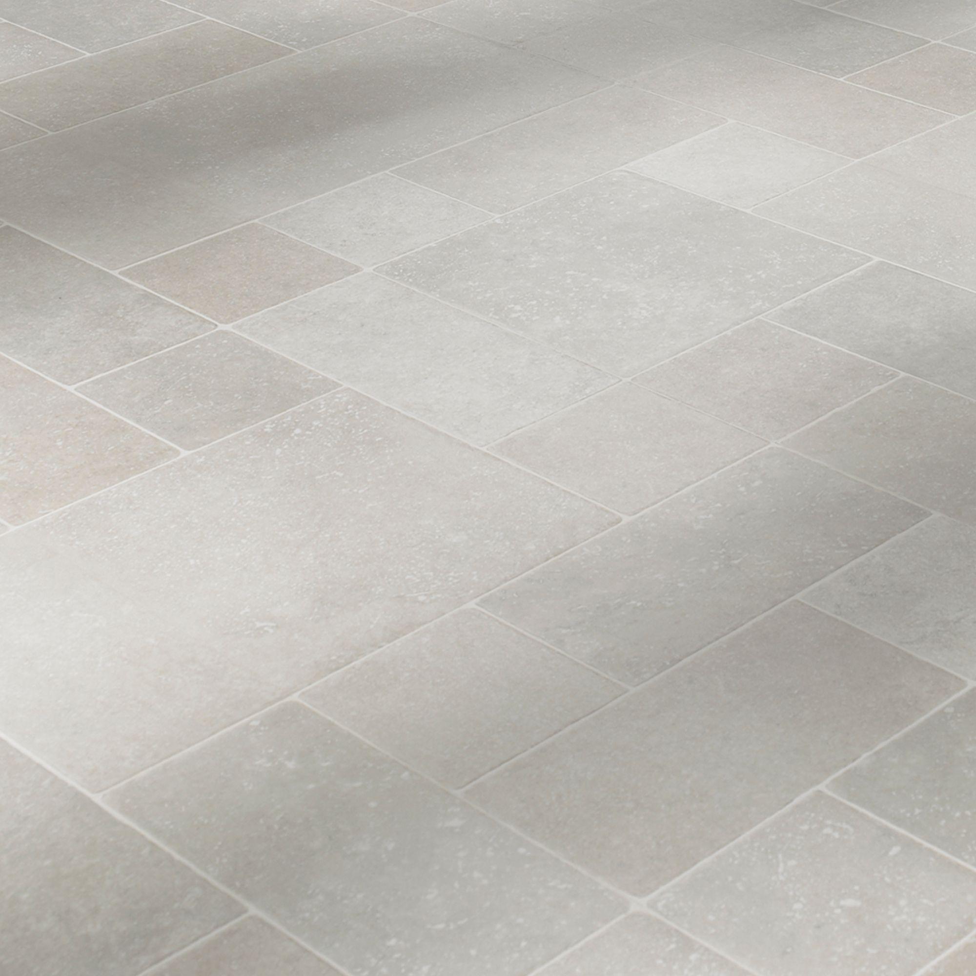 laminate flooring in kitchen Barbarita Limestone Effect Laminate Flooring 1 86 m Pack