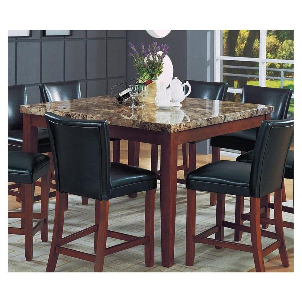 granite top kitchen table Granite Top Dining Table