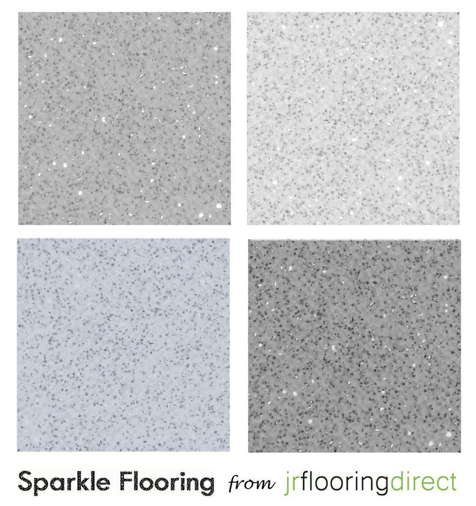 kitchen floor lino GREY Sparkly Flooring Glitter Effect Vinyl Floor Sparkle Lino Next