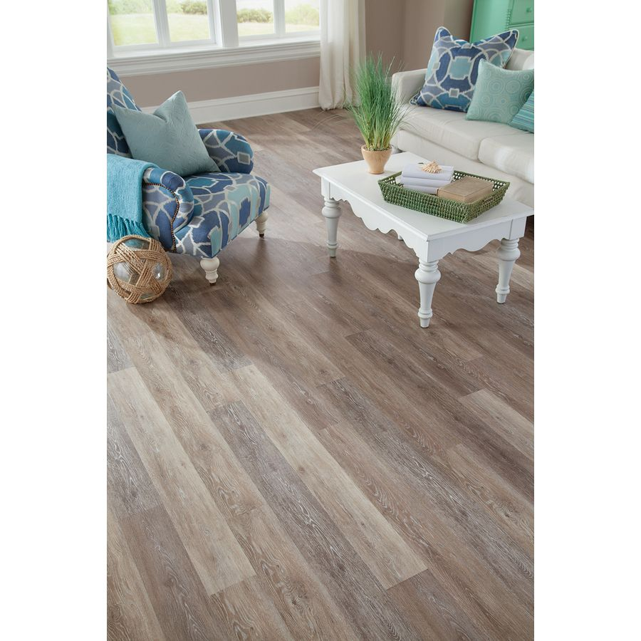 lowes kitchen flooring Stainmaster Washed Oak Dove Gray Lowes