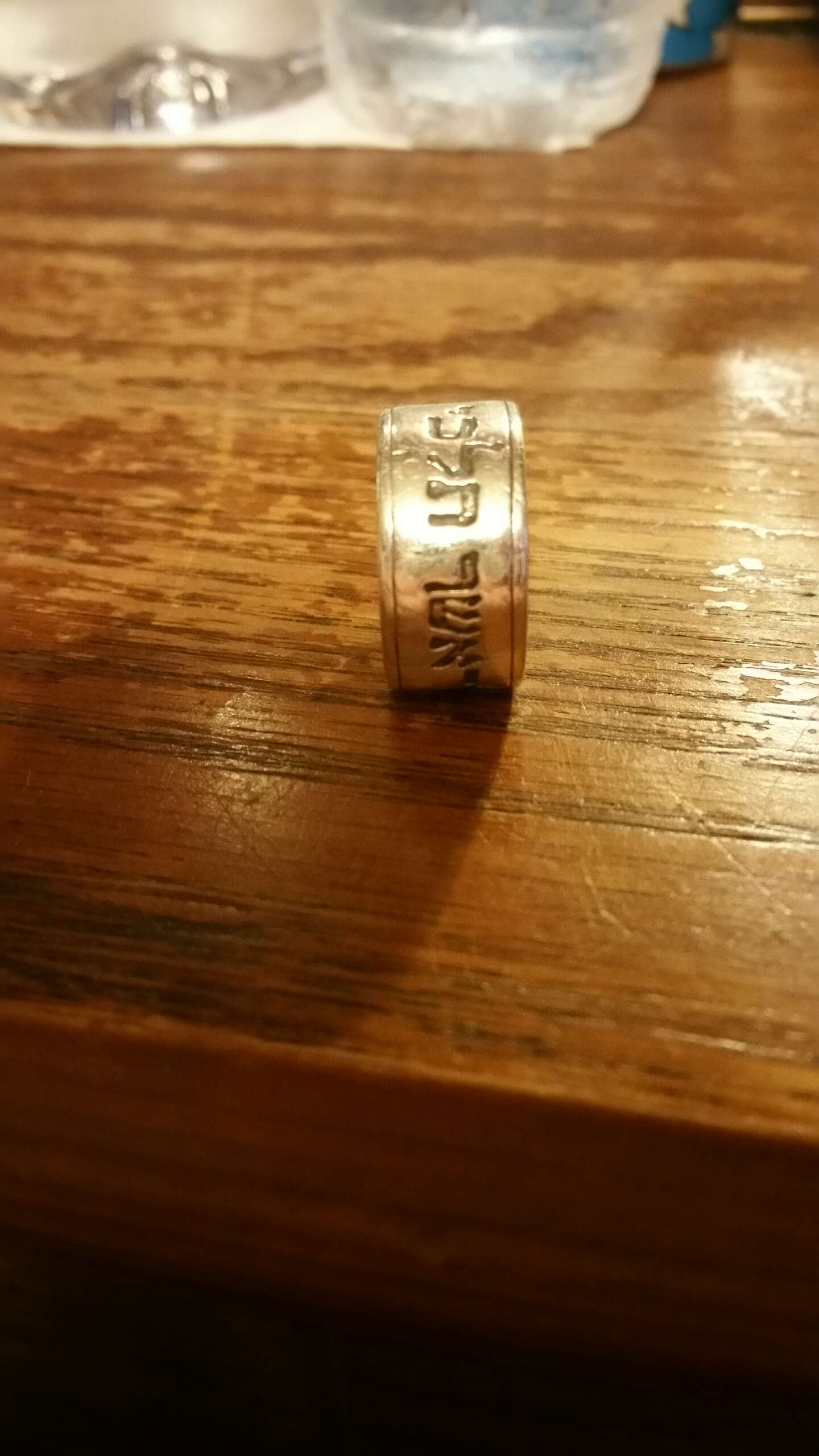 james avery ruth 1:16 ring james avery wedding bands James Avery Ruth 1 16 Ring In Hebrew The scripture reads Wherever