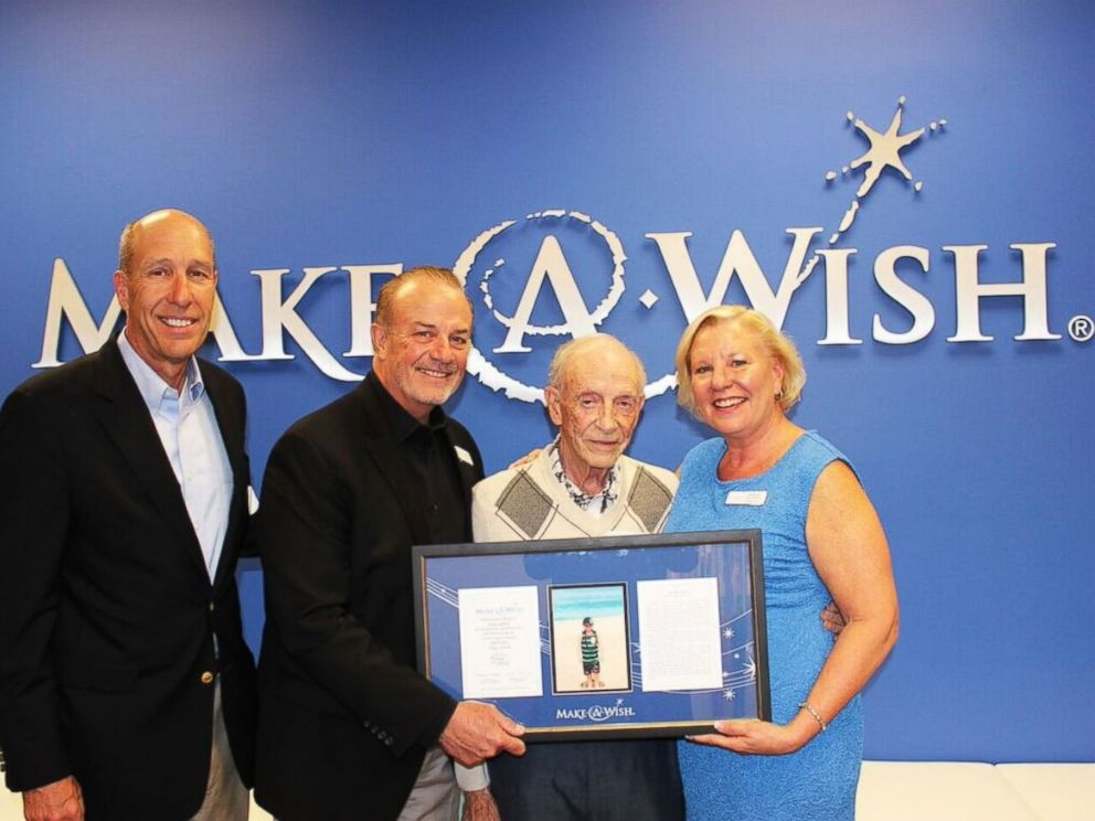 California Widower Finds Wife Left  127K in Bank Account for Make A     PHOTO   L R  David Williams and Michael Hickman of Make A Wish