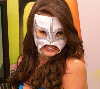mysterious masked woman
