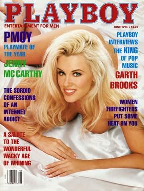 Jenny McCarthy na Playboy de junho de 1994 (Foto: Divulgação / Playboy)