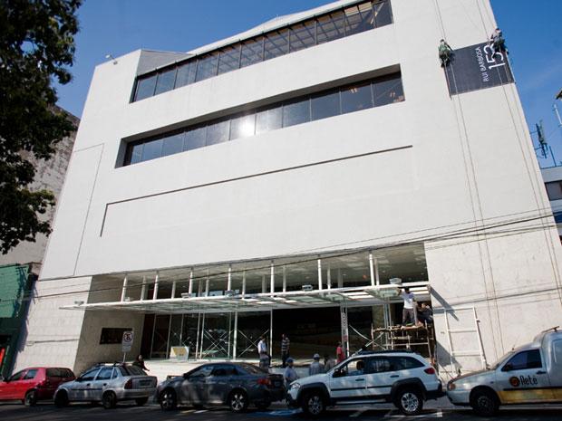Fachada do Teatro Sérgio Cardoso, que passou por reforma (Foto: Daigo Oliva/G1)